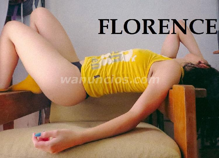 Florence 29 años PASA X MI. Oral natural. Vaginal. Anal
